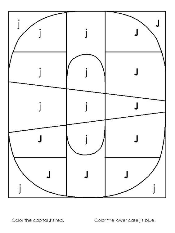 Number Names Worksheets : letter j worksheets kindergarten Letter ...