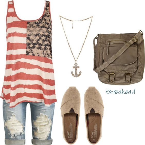 """""""Vintage America"""" by tx-redhead on Polyvore"""