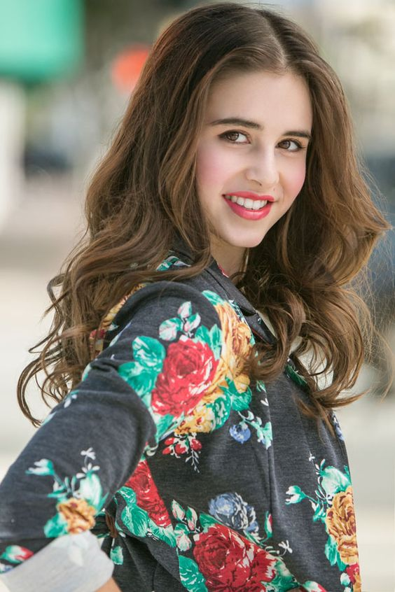 Carly Rose Sonenclar in teen vogue