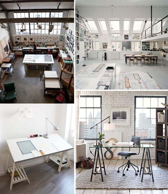Um estúdio muito show para poder criar a vontade!