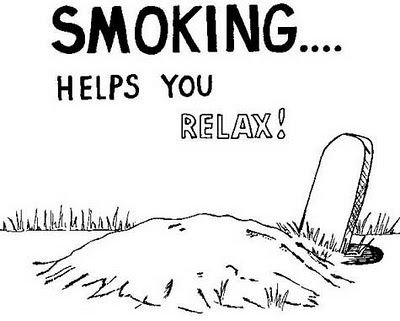 image Quit smoking relaxation needed during the break