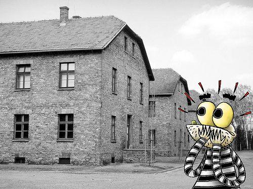 Monstro em Auschwitz