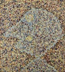 Ritratto di Jackson Pollock - Enrico Baj