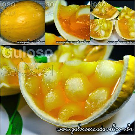 Bora fazer uma Gelatina no Melão para o #lanche? O pessoal vai amar!!!  #Receita aqui: http://zip.net/bkpXCs