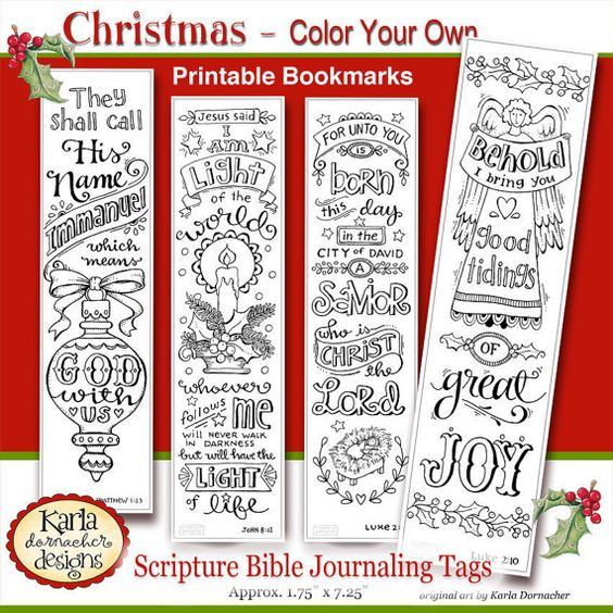 Color Your Own Religious Christmas Ornaments: Scriptures, Journaling And Christmas On Pinterest
