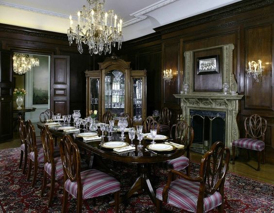 gothic victorian mansions | Old World, Gothic, and Victorian Interior Design: Victorian Gothic ...