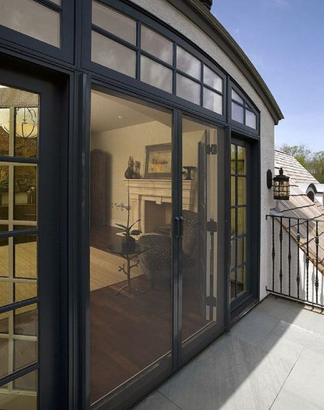 These #doors just got twice as nice with #phantomscreens! Beautiful home by @orrenpickell