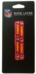 """Kansas City Chiefs Shoe Laces - 54"""""""