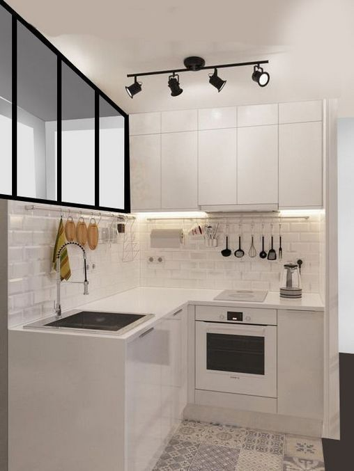 49 Small Kitchen Ideas That Will Make You Feel Roomy Homelovers Interior Kitchen Small Kitchen Interior Design Modern Kitchen Design Small Space