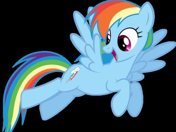 yay I even got my favorite character from my little pony I got: Rainbow Dash! Which Character From My Little Pony Are You?