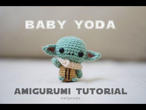 FREE AMIGURUMI PATTERN: Star Wars Yoda | Receitas amigurumi ... | 360x480