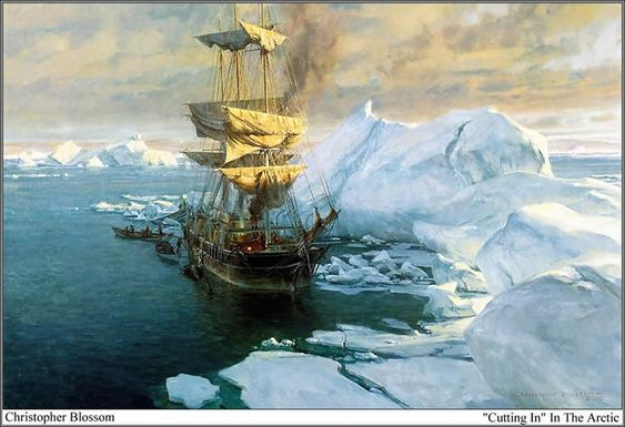 "Christopher Blossom, ""'Cutting In' In the Arctic"""