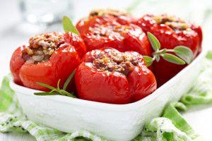 Gefüllte Paprika Klassische Art : Gefüllte Paprika Rezepte