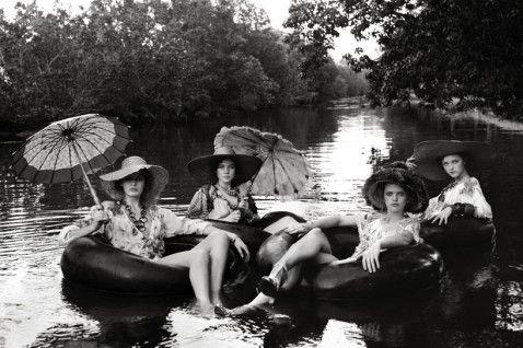 """Greg Lotus, River Lounge 40""""x60"""" Italian Vogue 2005"""