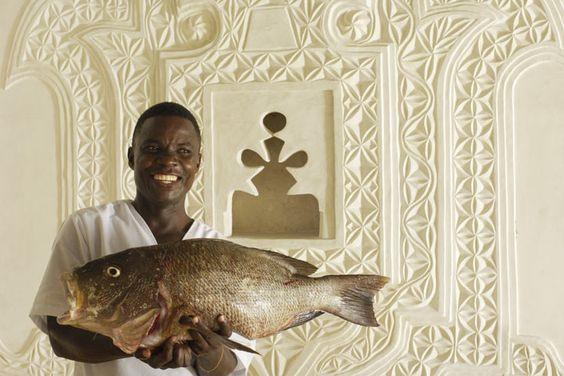Kusini House - Fish for lunch at Kusini House (9/10)