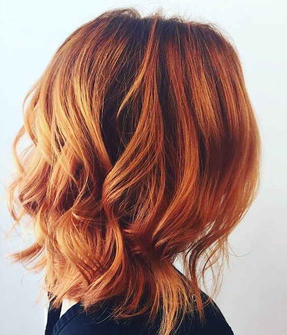 Rich Copper Hair Is Set To Be Autumn S Hottest Beauty Trend