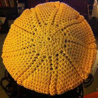 Sun-Ray Slouch hat pattern