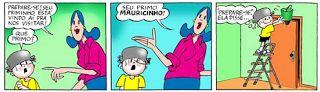 Espaço Professor: 24 tirinhas do menino Maluquinho