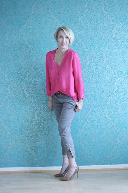 glam up your lifestyle: fuchsia and gray