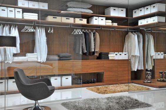 Výsledek obrázku pro luxusní šatna