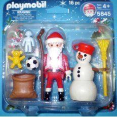 Playmobil 5845 Santa Claus and Snowman