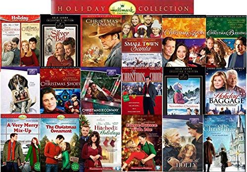 Ultimate 19 Movie Hallmark Holiday Collection Dvd Christmas Card Silver Bells All I Want Fo Hallmark Christmas Movies Hallmark Christmas November Christmas