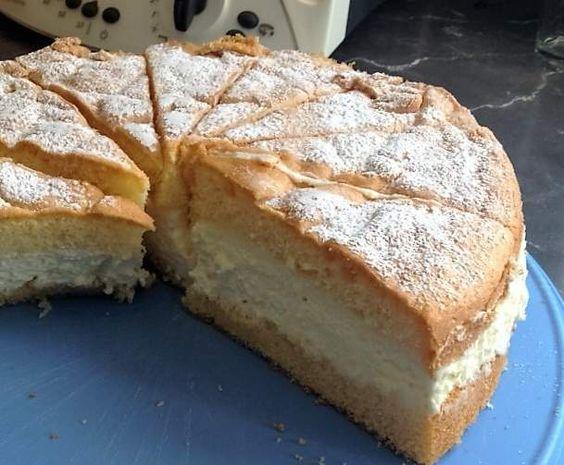 Rezept Käsesahnetorte ruck-zuck von Silvi 1963 - Rezept der Kategorie Backen süß