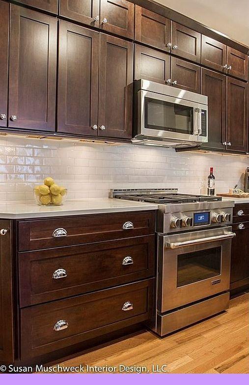 Dark Light Oak Maple Cherry Cabinetry And Wooden Kitchen Cupboard Doors Uk Best Kitchen Cabinets Backsplash With Dark Cabinets Trendy Kitchen Backsplash
