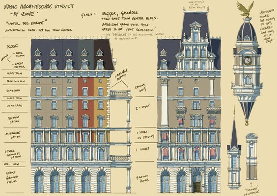 Image result for bioshock infinite environment orthographic