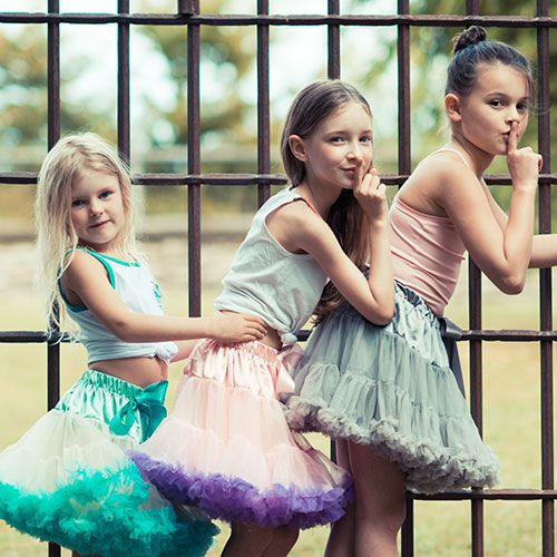Jupes Tutu Pettiskirts: