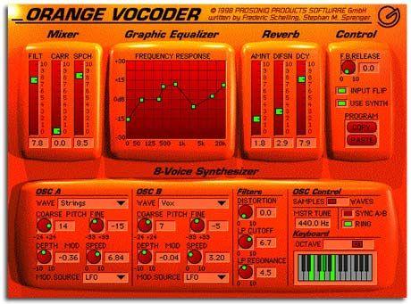 orange synthesizer #synth