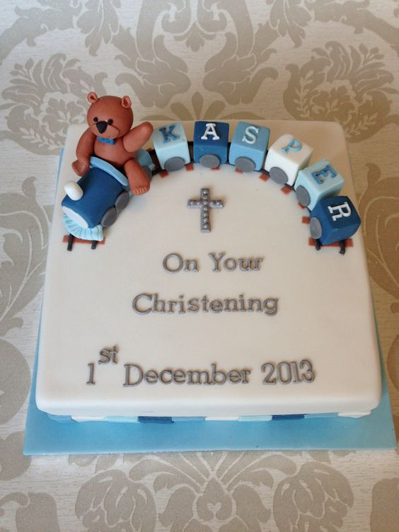 Boys christening cake Cake Pinterest Boys, Cakes and ...