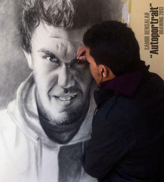 Samir Bensalah _ Autoportrait