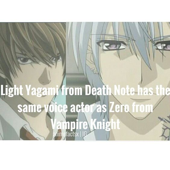 Death Note And Vampire Knight