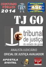Apostila Concurso TJ GO Oficial de Justica Avaliador 2014