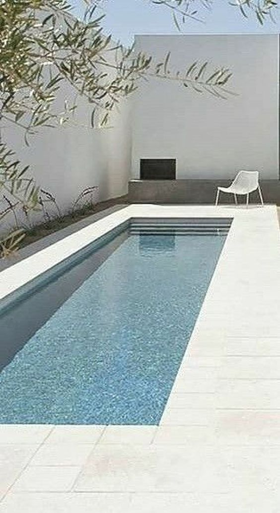 Rectangular Swimming Pool Ideas 20 Simple Designs For Minimalist