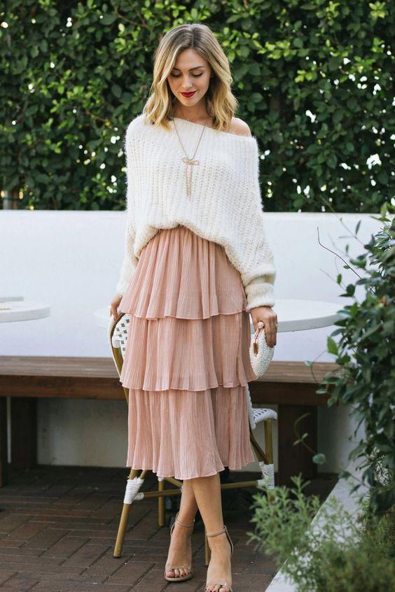 faldas para otoño