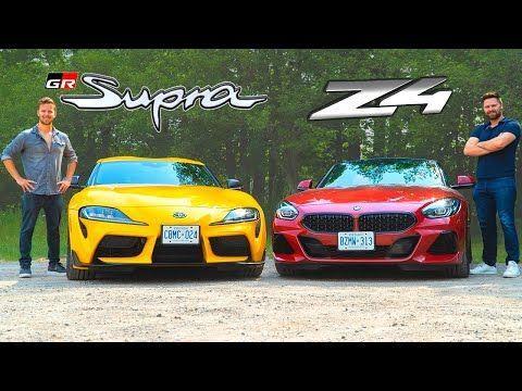 Behind The Wheel 2020 Toyota Supra Vs 2020 Bmw Z4 Motor Trend Canada Bmw Z4 Bmw Z4 Roadster Bmw Car Models