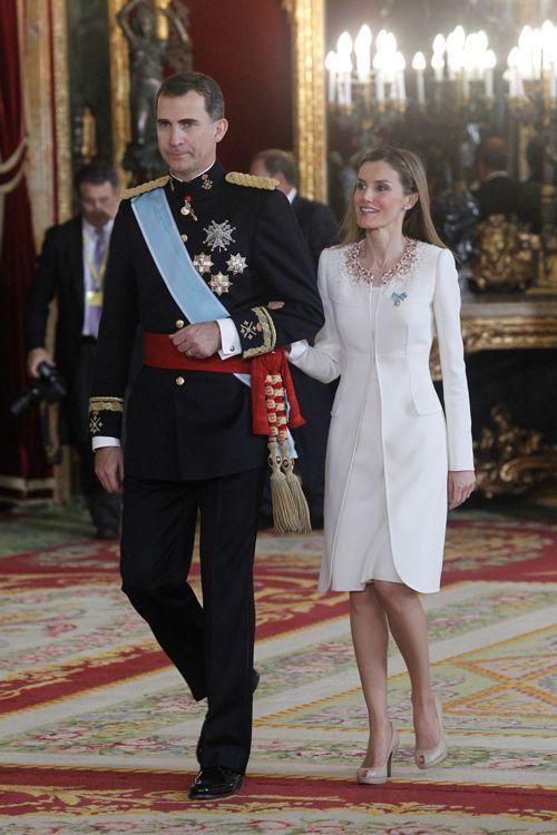 Queen Letizia Coronation