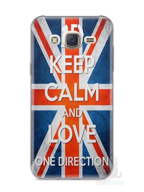 Capa Capinha Samsung J7 One Direction #3 - SmartCases - Acessórios para celulares e tablets :)