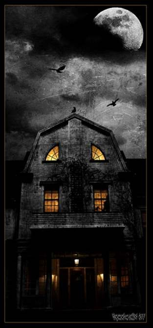 Real Life Haunted Houses Amityville House By Spio1 On