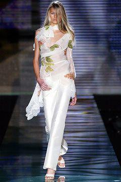 Elie Saab Spring 2003 Couture Fashion Show - Elie Saab, Hana Soukupova