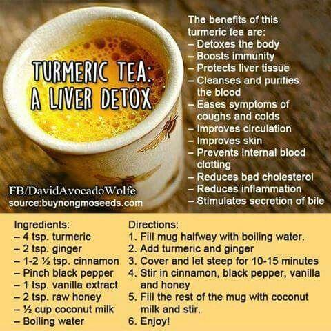 Tumeric Tea: Liver Detox                                                                                                                                                      More