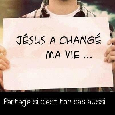 Jesus a changé ma vie