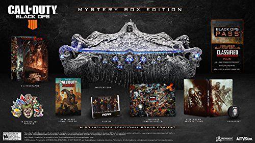 Call Of Duty Black Ops 4 Ps4 Mystery Box Edition Activ Https Www Dp B07fp9rbpb Ref Cm Sw R Pi Awdb Call Of Duty Black Black Ops Black Ops 4