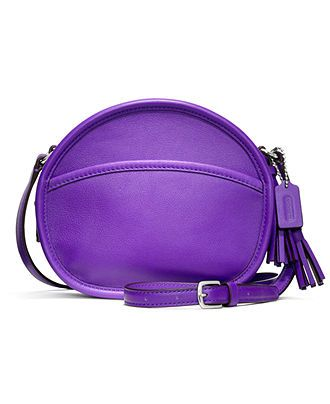 COACH LEGACY LEATHER CANTEEN BAG - Coach Handbags - Handbags & Accessories - Macy's I am in love with this!!!