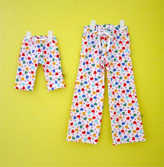 pj pants pattern: Kids Pajama, Baby Pj, Pj Pant, Sewing Pattern, Kids Pj