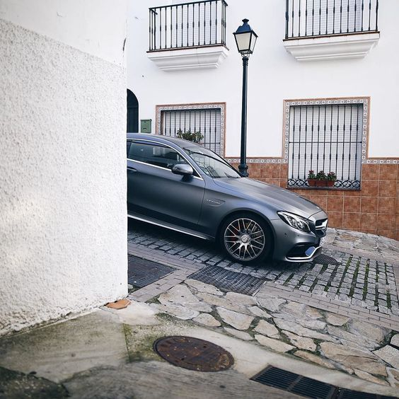 Exploring spanish villages with the new C-Class Coupé. Photo shot by @florianroser.  #MercedesBenz #MercedesAMG #AMG #CClass #CCoupé #Malaga #mbpressdrive #mbcar #mbfanphoto by mercedesbenz