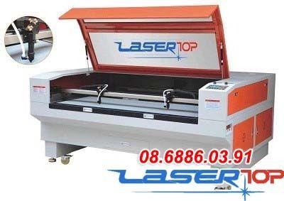 Máy Cắt Khắc Laser 2 Đầu Cắt (Khổ 1300x800mm)