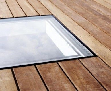 Make more of your flat roof - add flat roof windows and decking and enjoy your hard work from the inside and out.